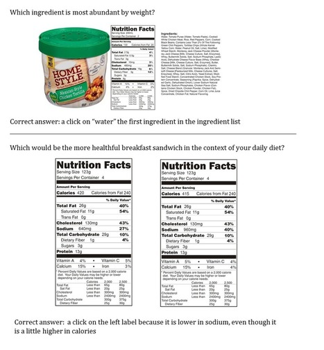 Developing Nutrition Label Reading Skills: A Web-Based Practice Approach | Salud Publica | Scoop.it