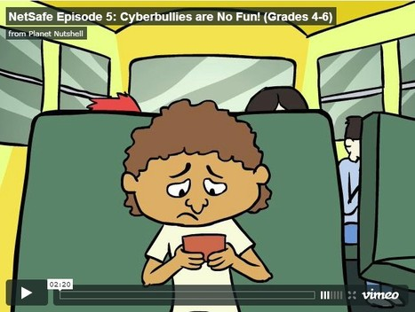 Educational Videos: NetSafe Episode 5: Cyberbullies are No Fun! (Grades 4-6) | UpTo12-Learning | Scoop.it