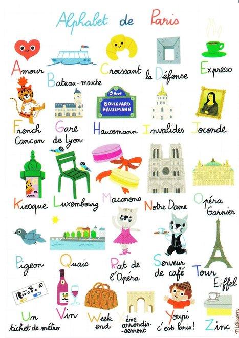 L 39 alphabet de paris more fle - L alphabet en francais a imprimer ...