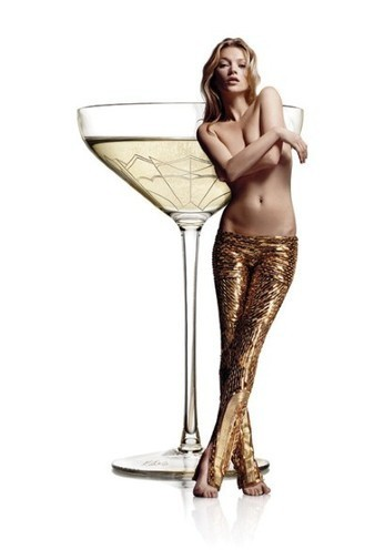 So…Kate Moss's Boob Has Been Molded Into A Champagne Glass - TheGloss | @FoodMeditations Time | Scoop.it