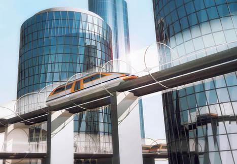 De toekomst van de trein: magnetische levitatie en kogeltreinen op zonne-energie - Richard van Hooijdonk | new society | Scoop.it