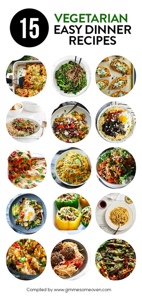 15 Vegetarian Dinner Recipes   ♨ Family & Food ♨   Scoop.it