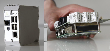 RailPi 2.0 DIN Rail Enclosure & Industrial Expansion Board is Designed for Raspberry Pi 3 & ODROID-C2 Boards | Embedded Systems News | Scoop.it