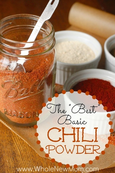 """The """"Best"""" Basic Chili Powder Recipe 