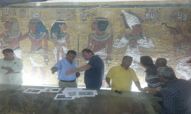 Anticipation grows at possibility of Tutankhamun tomb's hidden chambers - Heritage - Ahram Online | Egyptology and Archaeology | Scoop.it