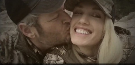Blake and Gwen Engage in Some Twitter PDA | Country Music Today | Scoop.it