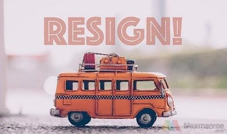 9 Contoh Surat Resign Kerja Yang Baik Dan Bena