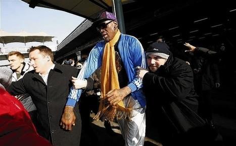 After North Korea, emotional Rodman urges no politics for a day - Chicago Tribune | Electile Dysfunction | Scoop.it