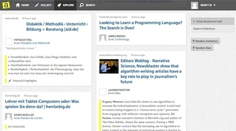 Bookmark, Highlight, And Share Your Favourite Pages On The ... | Great Finds in Webworld | Scoop.it