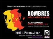 Manifestación de hombres contra la violencia machista | Cuidando... | Scoop.it