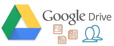 Le partage et la collaboration sur Google Drive | Autour du nuage, sauvegarde mais pas que | Scoop.it