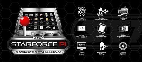 StarForce Pi, pour les nostalgiques des jeux électroniques.   Vade RETROGames sans tanasse!   Scoop.it