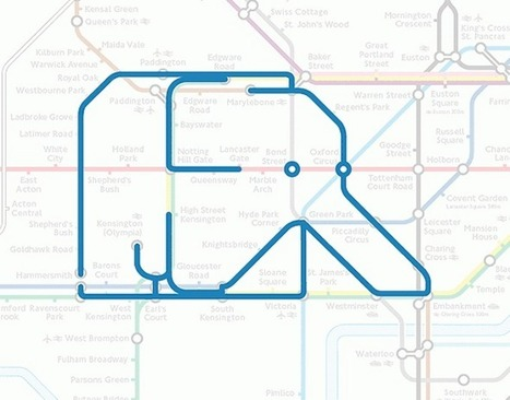 Animals on the London Underground | Visual Culture and Communication | Scoop.it