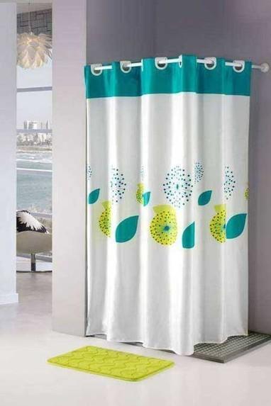 Tipos de cortinas para el cuarto de baño...