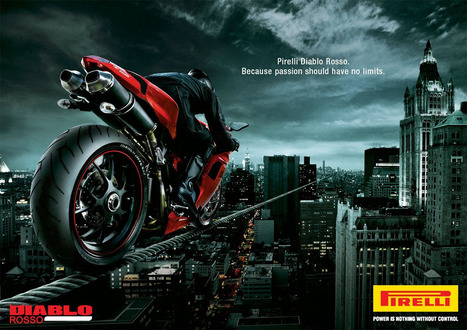 Ductalk | Ducati Art | Pirelli Diablo Rosso Ad | Ductalk Ducati News | Scoop.it