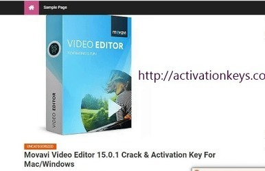 download movavi video editor 15.0.1 crack