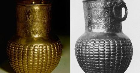Un magnifique petit vase en or du trésor de Tell Basta | Centro de Estudios Artísticos Elba | Scoop.it