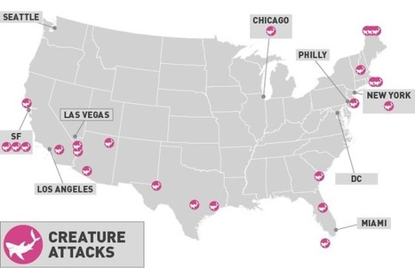 Map: How Hollywood Has Destroyed America | regard par la fenêtre de lestoile sur les arts | Scoop.it