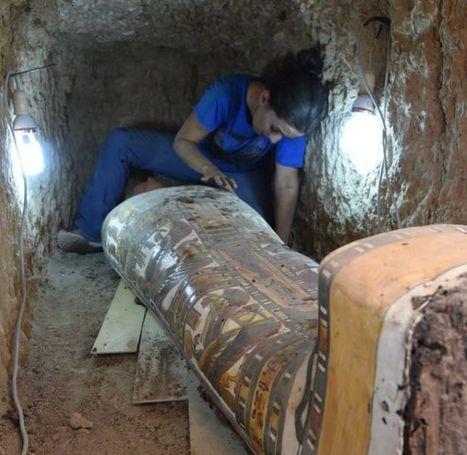 Arqueólogos españoles descubren la maravillosa decoración de la  momia de un asesor del faraón en Luxor | Egiptología | Scoop.it