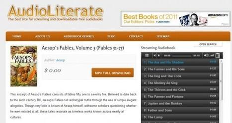 audioliterate – Decenas de audiolibros gratuitos en inglés | LEARN ENGLISH | Scoop.it