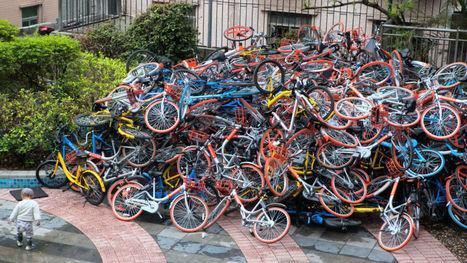 En Chine, le système de vélos en libre-service est devenu un vrai problème d'urbanisme | 694028 | Scoop.it