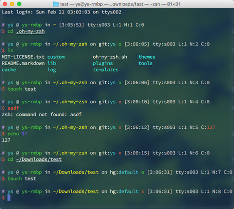 robbyrussell/oh-my-zsh | zshbuch, tldr, zsh |