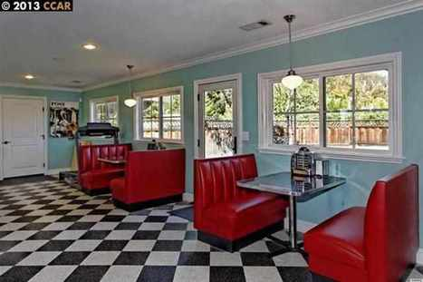 7 Homes for Sale With a 1950s-Style Diner Inside | Xposed | Scoop.it