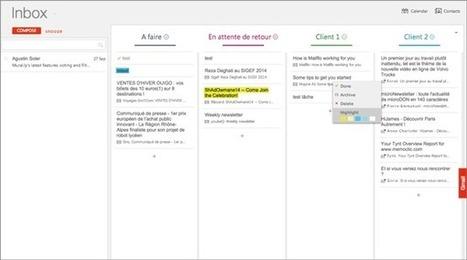 Extension Chrome pour organiser ses e-mails et tâches en listes sous Gmail   Outils et astuces du web   Scoop.it