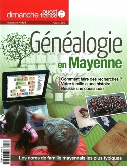 Ouest-France vous dit tout sur la généalogie en Mayenne | En remontant le temps | Scoop.it