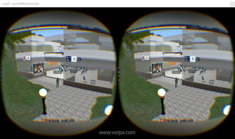 Second Life and OpenSim in VR using VorpX &ndas