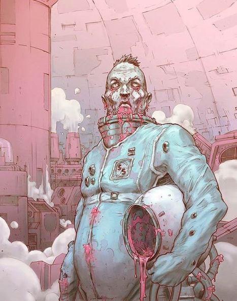 SPACE CREEP – Illustration par Gus Storms | Ufunk.net | CRAW | Scoop.it
