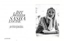 Hocus Pocus: Sasha Louise Latex Interview | LFN - latex fetish news | Scoop.it