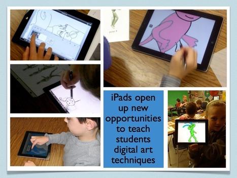 Using iPads in the Art Room | Educational IPad Info | Scoop.it
