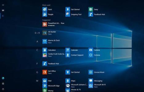 Windows 10: Microsoft reveals new look for Start menu in Anniversary Update | ZDNet | Business Training Courses | Scoop.it