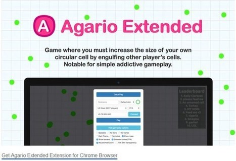 Agario Extended 0 3 3 CRX for Chrome Free | fil