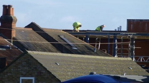 Fines for roofing works safety failings