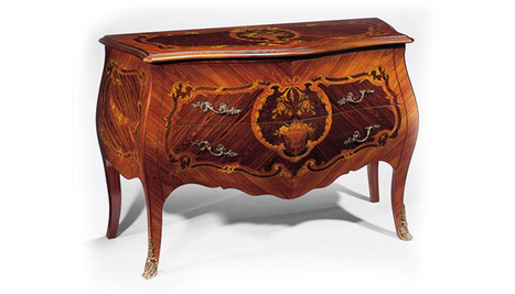 Antique Louis XV Bombe Chest | Luxury Reproduction French Antique Furniture  | Scoop.it