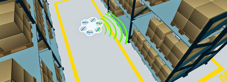 Drone-based Warehouse and Inventory Management | Robotic applications | Scoop.it