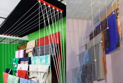 cloth drying roof hangers' in Ceiling Cloth Hanger Hyderabad