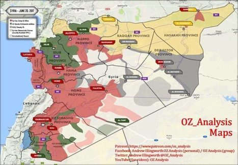 complete map of syria war mid june update