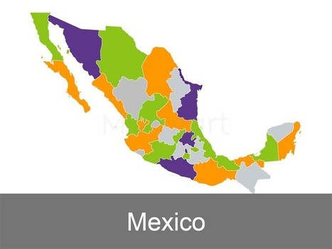 Mexico Map Template for Keynote Presentations | Apple Keynote Slides For Sale | Scoop.it