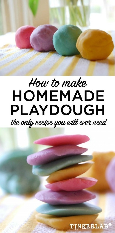 The Best Playdough Recipe | TinkerLab | PLNs for ALL | Scoop.it