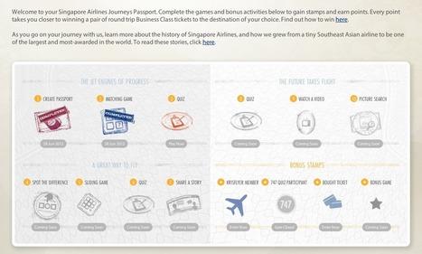 Singapore AirLine : Gamification et histoire | La magie des marques | #Gamification-Ludification | Scoop.it