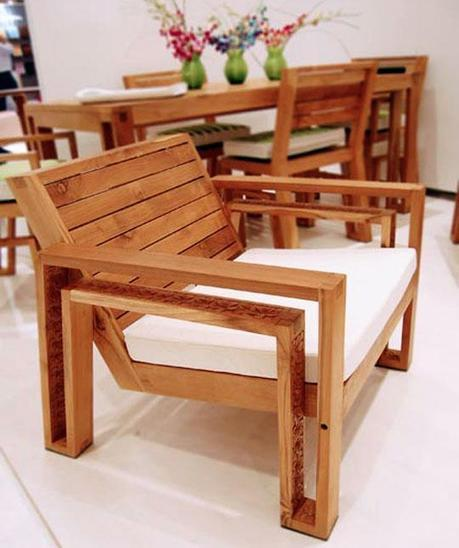 Outdoor Wood Chair Plans Quick And Easy Wood Pr