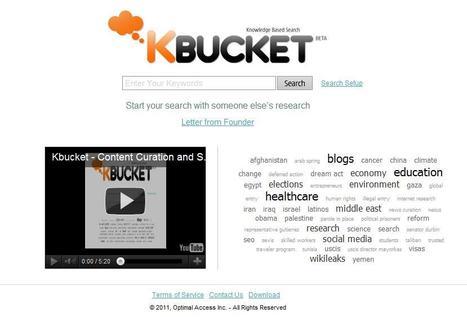 KBucket - curation   Online Tools   Scoop.it