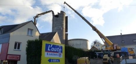 Avranches : le château d'eau est en cours de démolition (vidéo)   La Manche Libre avranches   Actu Basse-Normandie (La Manche Libre)   Scoop.it