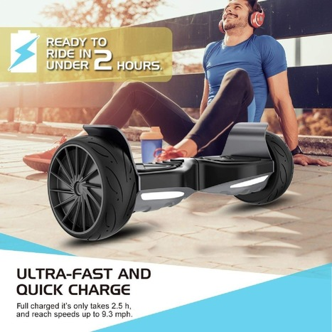 8.5/'/'Lamborghini Smart Electric Scooter 2-Wheels Bluetooth With Music Gift