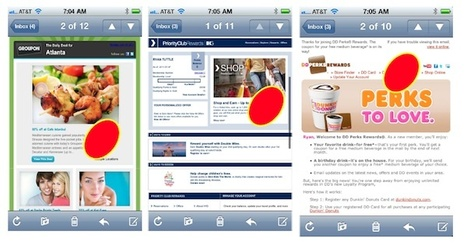 MOBILE - The New Inbox: The Intersection of Email, Mobile & Social Marketing | MarketingHits | Scoop.it