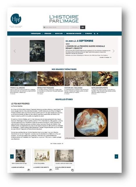 Un nouveau site pour l'Histoire par l'image | TICE | Scoop.it
