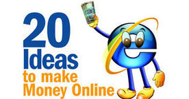 20 ideas to make money online - Business Today - Business News | About holistic approach towards education | Scoop.it